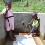 The Water Project: Mukoko Community, Mshimuli Spring -  Flowing Water