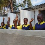 The Water Project: Kapkemich Primary School -  Finished Latrines