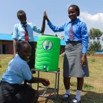 The Water Project: Chebunaywa Secondary School -  Handwashing Station