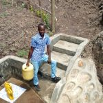The Water Project: Bukhakunga Community, Mukomari Spring -  Flowing Water