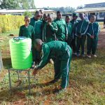 The Water Project: Green Mount Primary School -  Handwashing Stations