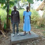 The Water Project: Imbinga Community, Arunga Spring -  Sanitation Platform