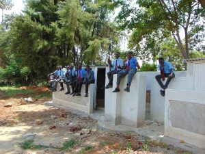 The Water Project:  New Latrines For Boys