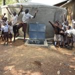 The Water Project: Ichinga Primary School -  Water Flowing