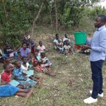 The Water Project: Mukoko Community, Mshimuli Spring -  Water Handling Training