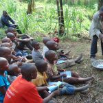 The Water Project: Bukhakunga Community, Mukomari Spring -  Handwashing Training