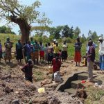 The Water Project: Sambuli Community, Nechesa Spring -  Spring Care Training
