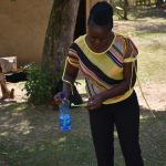 The Water Project: Emukoyani Community, Ombalasi Spring -  Dental Hygiene Training
