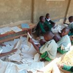 The Water Project: Lwanga Itulubini Primary School -  Students Studying