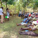 The Water Project: Ibinzo Community, Lucia Spring -  Handwashing Training