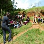 The Water Project: Mukhunya Community, Mwore Spring -  Handwashing Training