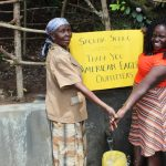 The Water Project: Kambiri Community, Sachita Spring -  Thank You