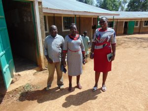 The Water Project:  School Management With Our Staff