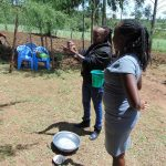 The Water Project: Kambiri Community, Sachita Spring -  Handwashing Training