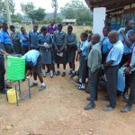 The Water Project: Chebunaywa Secondary School -  Handwashing Training