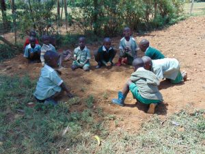 The Water Project:  Students Playing At School