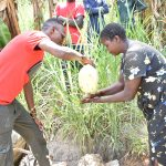 The Water Project: Emukoyani Community, Ombalasi Spring -  Handwashing Training