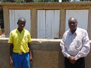 The Water Project:  Clinton Kibisu And Mr John Mundehe