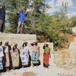 The Water Project: Mbau Community B -  Celebrating Completed Sand Dam