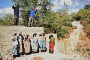 The Water Project:  Celebrating Completed Sand Dam
