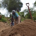 The Water Project: Ndithi Community -  Digging