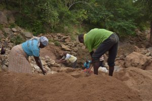 The Water Project:  Shg Members Digging