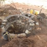 The Water Project: Ndithi Community A -  Well Progress
