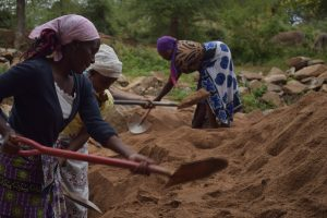 The Water Project:  Women Digging