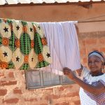 The Water Project: Kasekini Community -  Hanging Clothes On The Line