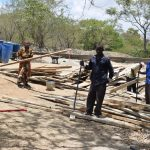 The Water Project: Mbau Community C -  Construction Site