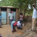 The Water Project: Mbau Community C -  Tippy Tap Construction