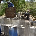 The Water Project: Mbau Community C -  Well Nearly Done