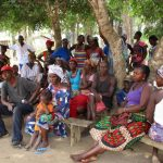 The Water Project: Lokomasama, Kamayea, Susu Community & Church -  Community Members