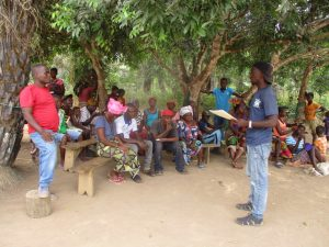 The Water Project:  Staff Meet With Community Members