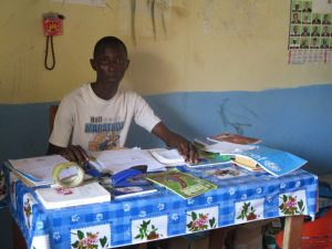 The Water Project:  Mohamed Turay Acting School Principal
