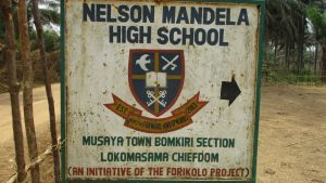 The Water Project:  School Sign Board