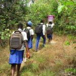 The Water Project: Lokomasama, Musiya, Nelson Mandela Secondary School -  Students Carrying Water