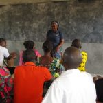 The Water Project: UBA Senior Secondary School -  Discussing The Proper Use Of The Pump