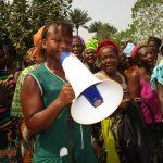 The Water Project: UBA Senior Secondary School -  Fatmata Ramadam Koroma Student Leading Song