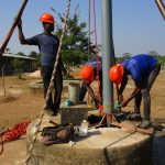 The Water Project: UBA Senior Secondary School -  Preparing To Drill