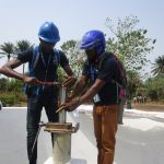 The Water Project: UBA Senior Secondary School -  Pump Installation