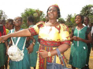 The Water Project:  Senior Teacher Juliana Kingsley Celebrating