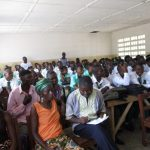 The Water Project: UBA Senior Secondary School -  Students And Community Members At The Training