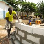 The Water Project: UBA Senior Secondary School -  Wall Construction