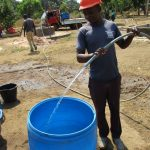 The Water Project: UBA Senior Secondary School -  Water From Yield Test