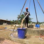 The Water Project: UBA Senior Secondary School -  Yield Test