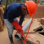 The Water Project: Rowana Junior Secondary School -  Cutting Pipe