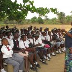 The Water Project: Rowana Junior Secondary School -  Facilitator Instructs The Students
