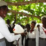 The Water Project: Rowana Junior Secondary School -  Handwashing Demonstration