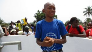 The Water Project:  Ibrahim S Kamara School Head Boy